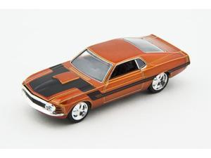 "M2 Machines 1/64 1970 Ford Mustang ""Gambler 514"" - Pacific Sunset Pearl"
