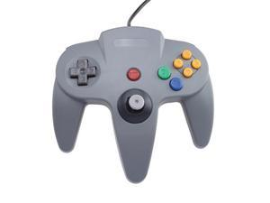 Gray Game Controllers For Nintendo 64 Plus SDHC / SD / MMC Memory Card Reader to USB 2.0 Adapter