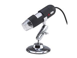 8-LED USB Digital Microscope 2.0MP Video Camera - 500X