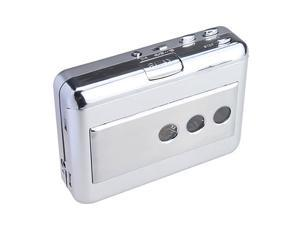 Handheld USB Cassette-to-MP3 Converter Capture Tape Player w/ Earphone Jack