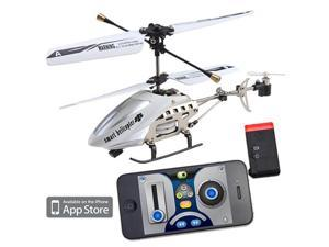 iPhone/iPod Touch/iPad Controlled Rechargeable 3CH R/C i-Helicopter w/ Gyro - Mini iPhone RC Helicopter