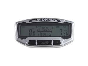 LCD Bike Bicycle Computer Odometer Speedometer Velometer Backlight 28 Functions