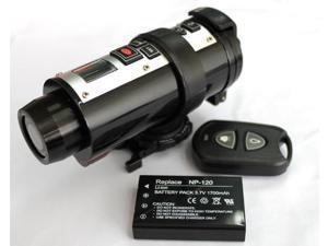 5MP CMOS Sensor 2.4GHz Remote Control Waterproof Video Action Camera Sport Helmet Camera Cam.DV - 720P HDMI