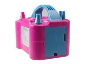 Air Blower Electric Balloon Inflator Pump Two Nozzle High Power Color Portable