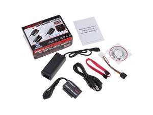 USB 3.0 2.0 to HD HDD SATA IDE Adapter Converter Supports 2TB HDD ATA/ATAPI