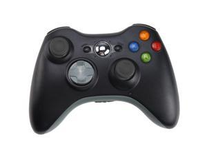 AGPtek Xbox 360 Wireless Controller for Windows Game pad - Black - for PC, Game console