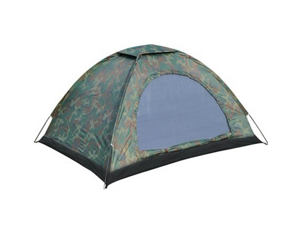 Folding Tent Waterproof Four Seasons Fiberglass Outdoor Camping Camouflage Hiking