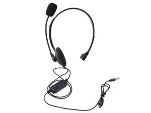 AGPtek HA0023-1 Wired Gaming Headset/Headphones for PS4 Playstation 4,PC, Smartphone, iPhone - Extra Bass