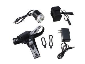 Waterproof 4000LM New 3x CREE XM-L T6 LED Bike Bicycle Head Light Headlamp+4x18650 battery+Charger D0078