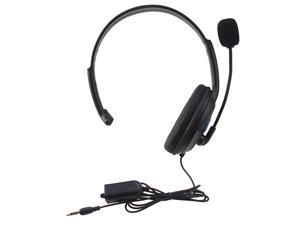 Gaming Headset Headphones with Microphone/Volume Control for PS4