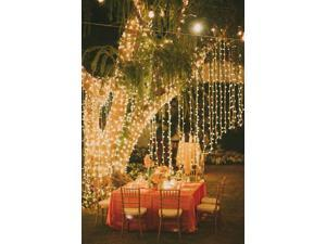 3Mx3M 300LED Outdoor Christmas Xmas Party String Light Wedding Curtain Light Home Decoration