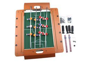 "AGPtek 50*35*10cm 20"" Miniature Wooden Mini Wood Table Foosball Table Game Set Soccer Table"