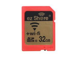 Ez Share WIFI SDHC 32GB Class 10 Wireless Flash Memory SD Card for Camera DV and Wi-Fi Device (iPhone5 5S, iPad, Smart Phones, Tablets, Pad, Laptops)