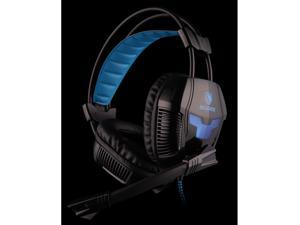 7.1 Surround Effect USB Gaming Headset Headphone w/ Microphone Mic for Desktop PC, Laptop - 2.2M Cable