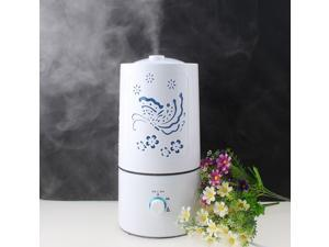 Carving LED Colorful Lights Ultrasonic Aroma Diffuser White Humidifier Aromatherapy Air Purifier Mist for Home, Living Room, Bedroom, Office