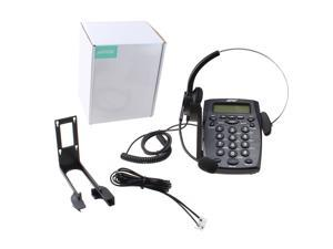 Call Center Dialpad Headset Telephone With Tone Dial Key Pad & Redial - Noise Cancellation,Voice Recorder Port