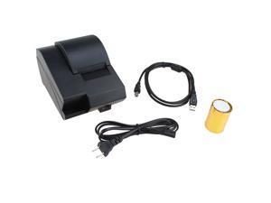 USB Mini 58mm POS Printer 384 line Thermal Dot Receipt Printer Thermal Printer Set with Roll Paper