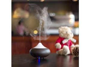 Wholesale Dark Wood grain Ultrasonic Ion Humidifier Aroma Air Aromatherapy Diffuser
