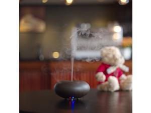 Dark Wood grain Ultrasonic Ion Humidifier Aroma Air Aromatherapy Diffuser