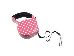 15ft Automatic Retractable Leash Lead Strap Adjustable Dog Leash Rope for Medium Dogs