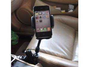 3 in 1 Dual USB Ports Car Charger Holder Mount Holder for iPhone 6 Plus iPhone5 5S Samsung Galaxy S5 Note 4 3 GPS Smart Phone