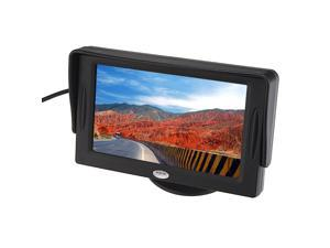 "4.3"" -inch LCD TFT Rearview Monitor Screen for Car Backup Camera CCTV Camera or Video Games"