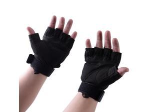 Outdoor Sports Military Armed Tactical Half-Finger Gloves for Hunting Motorcycle Cycling