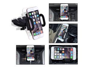 360° Rotating Car CD Slot Holder Mount Holder for iPhone 6 Plus iPhone5 5S Samsung Galaxy S5 Note 4 3 GPS Smart Phone