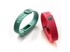 AGPtek 2 PCS Small Size Replacement Band for Fitbit Flex Bracelet with Clasp No Tracker