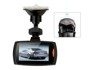 "AGPTEK Dashboard Camera - Full HD 1080P H.264, 2.7"" LCD with G-Sensor, Cycle Recording, Night Vision Motion Detection, WDR 175° Wide Angle"