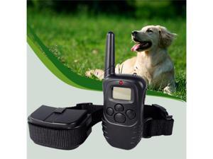 Pet Puppy Dog Adjustable Training Collar 100 Level Vibration & Level Shock