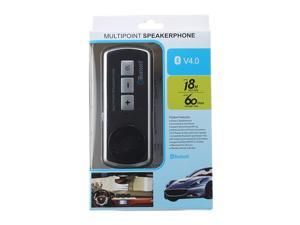 Handsfree Car Kit Speakerphone Bluetooth Multipoint Conference Speaker with Car Charger