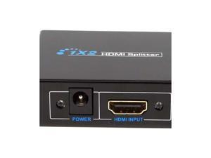 2 Port HDMI Mini Splitter Amplifier 1 In To 2 Out Dual Display