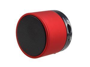 AGPtek Mini BoomBox Portable Speaker For Phone, Laptop ,Tablet PC Red