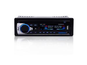Agptek In-Dash Car Audio Bluetooth Stereo Player Audio FM Aux Input Receiver with SD MP3 Radio Player