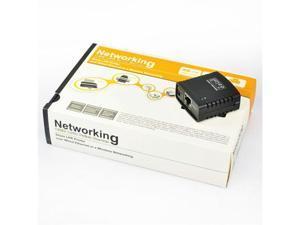 USB 2.0 Network Print Server Printer Share Hub
