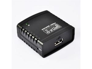 Ethernet Network Printer Server Hub With USB 2.0 Interface Link Connecter Ethernet LAN Networking Share