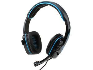 3.5mm Sades Stereo Headset PC Notebook Pro Gaming Headset with Hidden Microphone