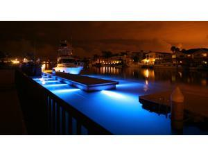 6 LED Marine Underwater Light Boat/Yacht light 18W RGB, Stainless Steel, IP68