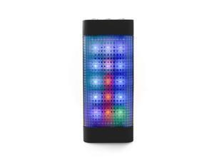 AGPTEK Original Style Wireless Changeful Flashing Speaker with Built-in Microphone for Iphone6, Iphone6 plus, Ipad, Samsung Galaxy Tablets/Laptop/PC