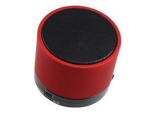 Mini Beat Box Handsfree Mic Bluetooth TF Speaker For Laptop Tablet PC Phone Red