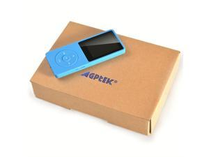 AGPtEK 2015 Latest Version 8GB & 70 Hours Playback MP3 Lossless Sound Music Player (Supports up to 64GB)