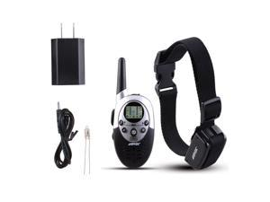AGPtek DC17 Dog Shock Training Collar with Remote Waterproof Rechargeable 1000 Yard Hunting