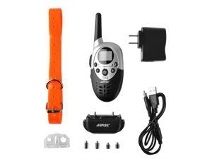 AGPtek 1000 Yard 8 Levels Waterproof Dog Shock Training Collar with Rechargeable Remote