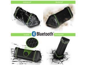 Earson N2 Wireless Bluetooth EARSON  Waterproof Shockproof Portable Car Home Stereo Speaker for Iphone Ipad Samsung Smart phone Tablet Laptop