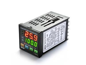 Mypin® Professional Digital Programmable PID Temperature Controller Thermostat TA4-INR with Dual Display 90-265V AC/DC High Accuracy