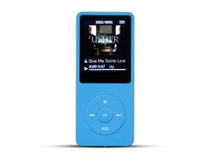 AGPtek Mp3 Player 2015 Latest Version 8GB  (Supports up to 64GB) & 70 Hours Playback MP3 Lossless Sound Music Player, Color Blue