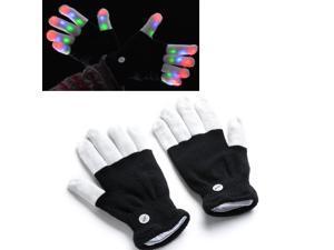 AGPtek® Flashing Finger Lighting Gloves LED Colorful Rave Gloves, Light-up Toys, Christmas Gift, For Concert ,Dance Halls, Bars, Stage Performances