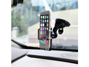 360° Rotating Smartphone Universal Car Air Vent Mount Holder Cradle Stand Bracket for Phone MP3/4 PDA