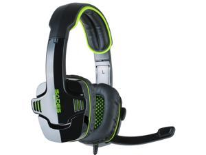 SADES SA-708 Stereo Gaming Headphone Headset with Microphone and Retail Box Green